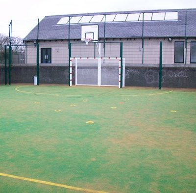 Basketball court at Fore Street park - Click to open full size image