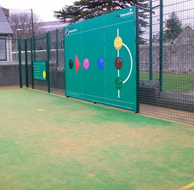 Sports facilities at Fore Street park