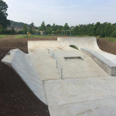 An overview of the skate park facility - Click to open full size image
