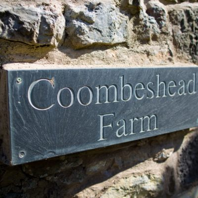 House Sign For Coombeshead Cottage - Click to open full size image