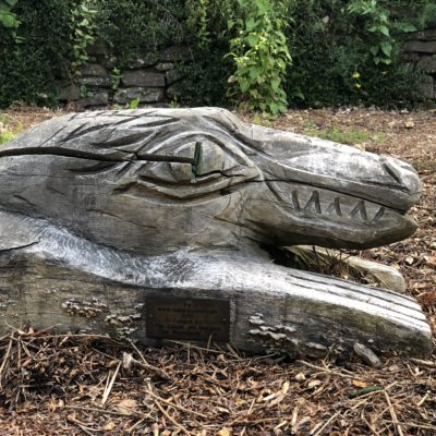 Wood Carving At The Two Oaks In Chudleigh